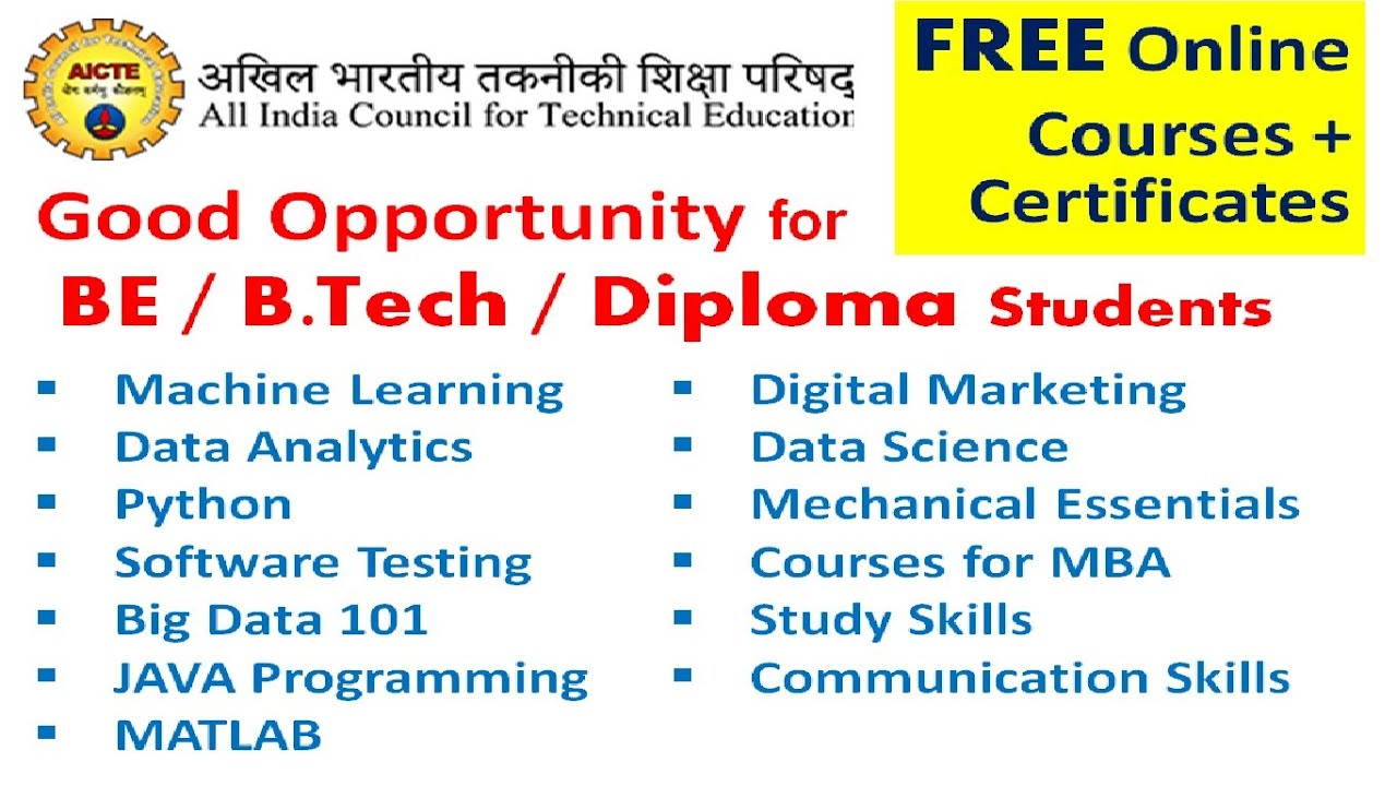 best free online courses with certificates in india