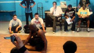 Bboy Ziggy vs. Gonzo - 8/28/10 - Top 8 in Inglewood, CA