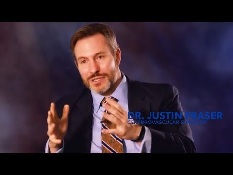 Dr. Justin Fraser discusses how research is changing stroke treatment