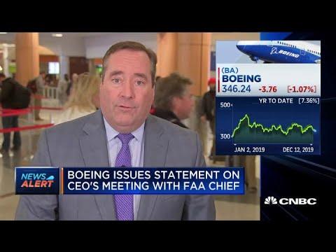 Boeing issues statement
