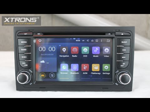 Xtrons PF75AA4A | Android 5.1 Lollipop Driving Entertainment System
