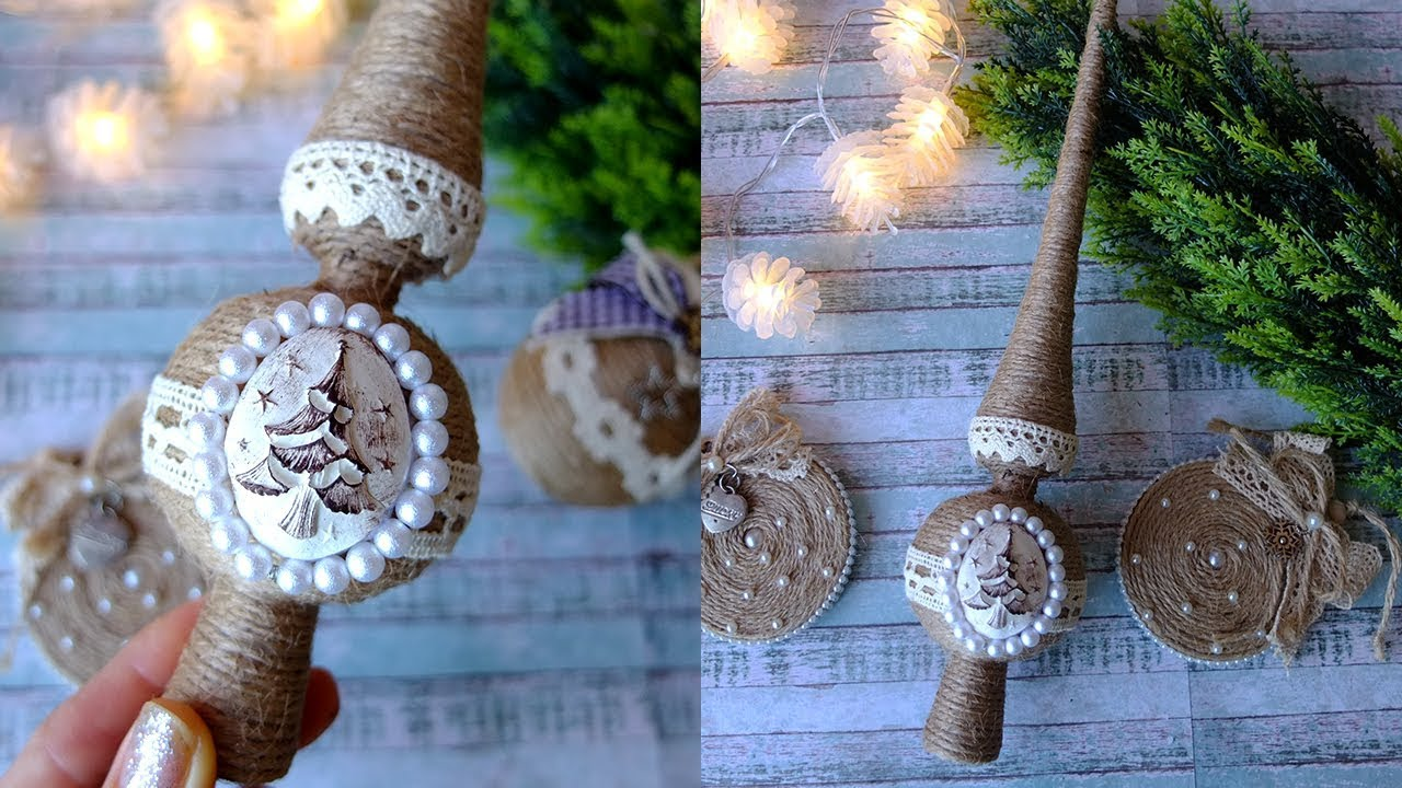 Макушка на елку в эко стиле МК/верхушка на елку/Christmas Star