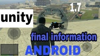 GTA 5 unity 1.7v final information | Telugu | Taju logics