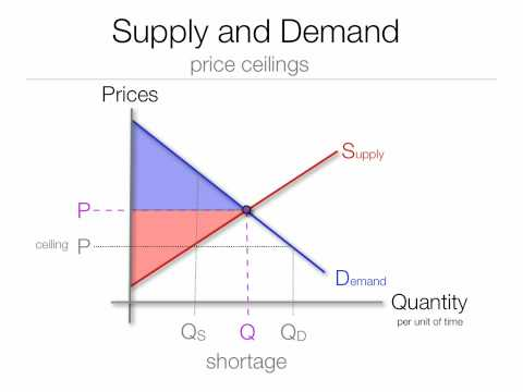 Price Ceiling | Rent Ceiling   Dead Weight Loss | Surplus   YouTube