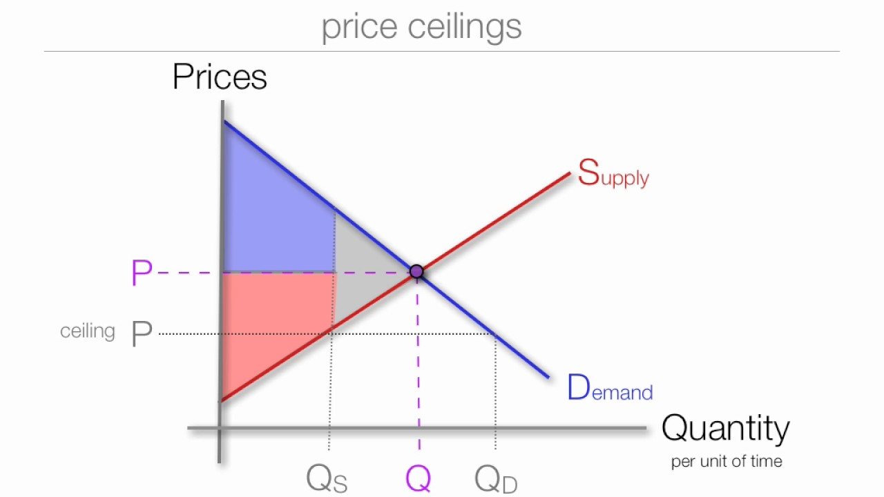 The Impact Price Floors And Ceilings On Consumer Surplus And Producer Surplus