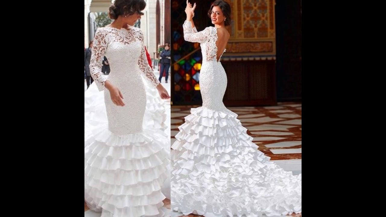 Vestidos de novia 2019 flamencos