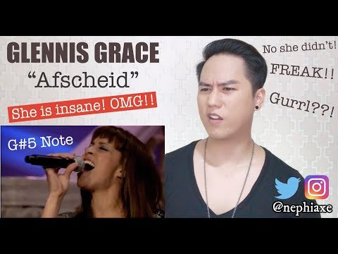 Glennis Grace - Afscheid | REACTION