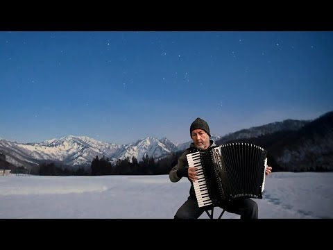 RUSSIAN ACCORDION MUSIC Zolotaryov - Winter Morning - Zolotarev - Akkordeonmusik Bayan  Русский