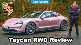 Porsche Taycan RWD review: 0-60mph, 1/4 mile & drift test!