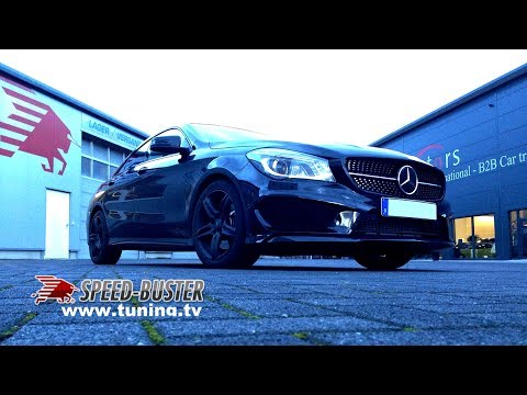 mercedes cla 220 cdi 212 ps 156 kw 460 nm with speed buster chiptuning box youtube. Black Bedroom Furniture Sets. Home Design Ideas
