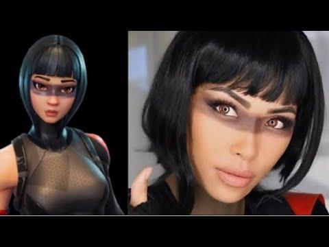 Fortnite Shadow Ops Makeup Tutorial Halloween Look | Cosplay