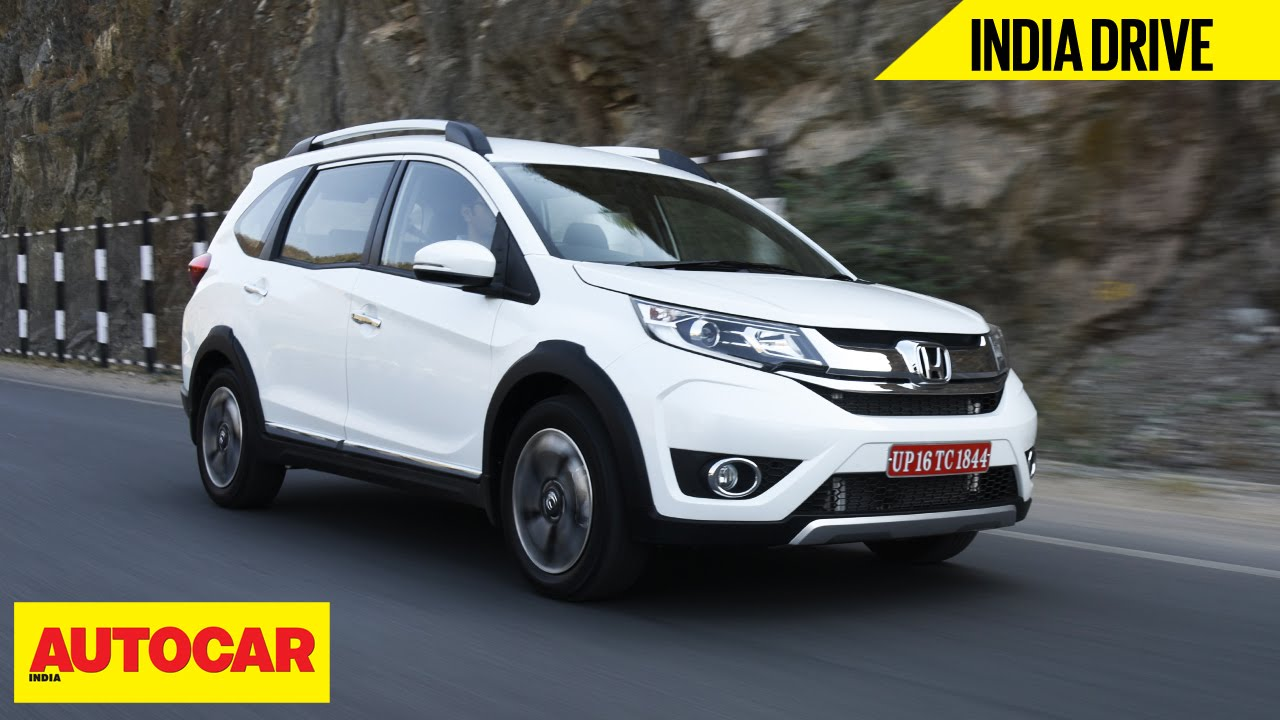 Honda Br V India Drive Autocar India Youtube