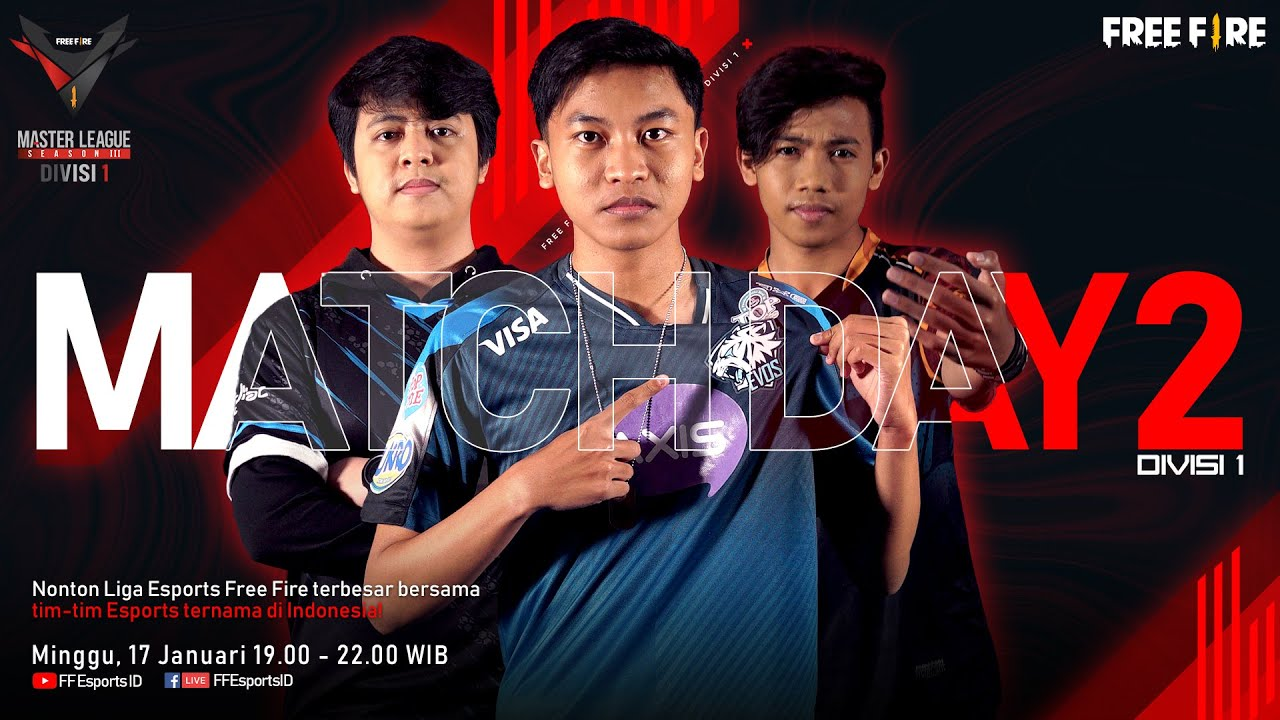 Download [2021] Free Fire Master League Season III Divisi 1 - Match Day 2