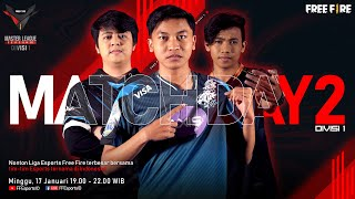[2021] Free Fire Master League Season III Divisi 1 - Match Day 2
