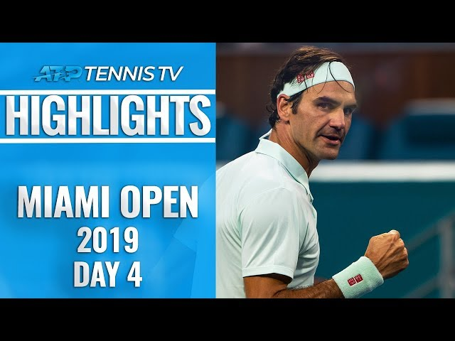 Federer made to fight; Ferrer takes down Zverev | Miami Open 2019 Day 4 Highlights