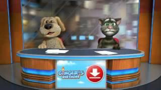 #Noapte Tarziu-Sunt Un Cocalar-Talkling Tom & Ben News Stiri :)))