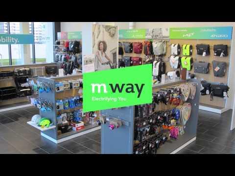 m-way - Le distributeur numéro 1 des deux-roues électriques en Suisse!