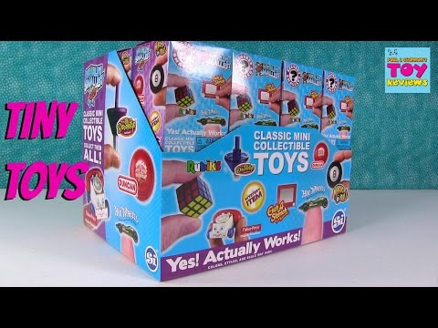 Worlds Secret Smallest Blind Box Toys Rubiks Cube Hot Wheels & More Opening | PSToyReviews