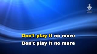 ♫ Karaoke DONT PLAY THAT SONG - Adriano Celentano