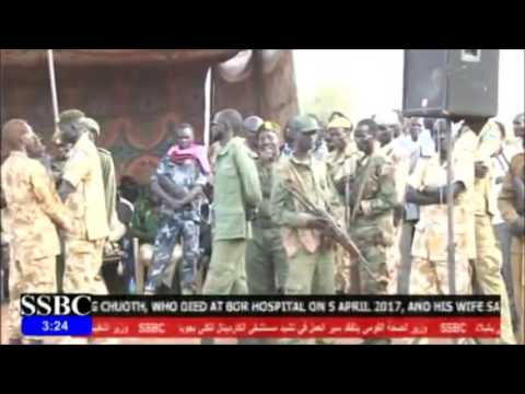 South Sudan news -Governor Them Michar