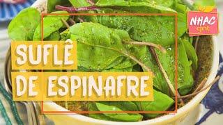 Suflê de espinafre | Rita Lobo | Cozinha Prática