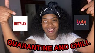 NETFLIX/ TUBI SHOW + MOVIE RECOMMENDATIONS TO WATCH WHILE YOU QUARANTINE & CHILL | ItsKsWorld