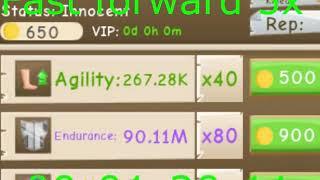 100 MILLION ENDURANCE?!?! (Power Simulator Roblox)