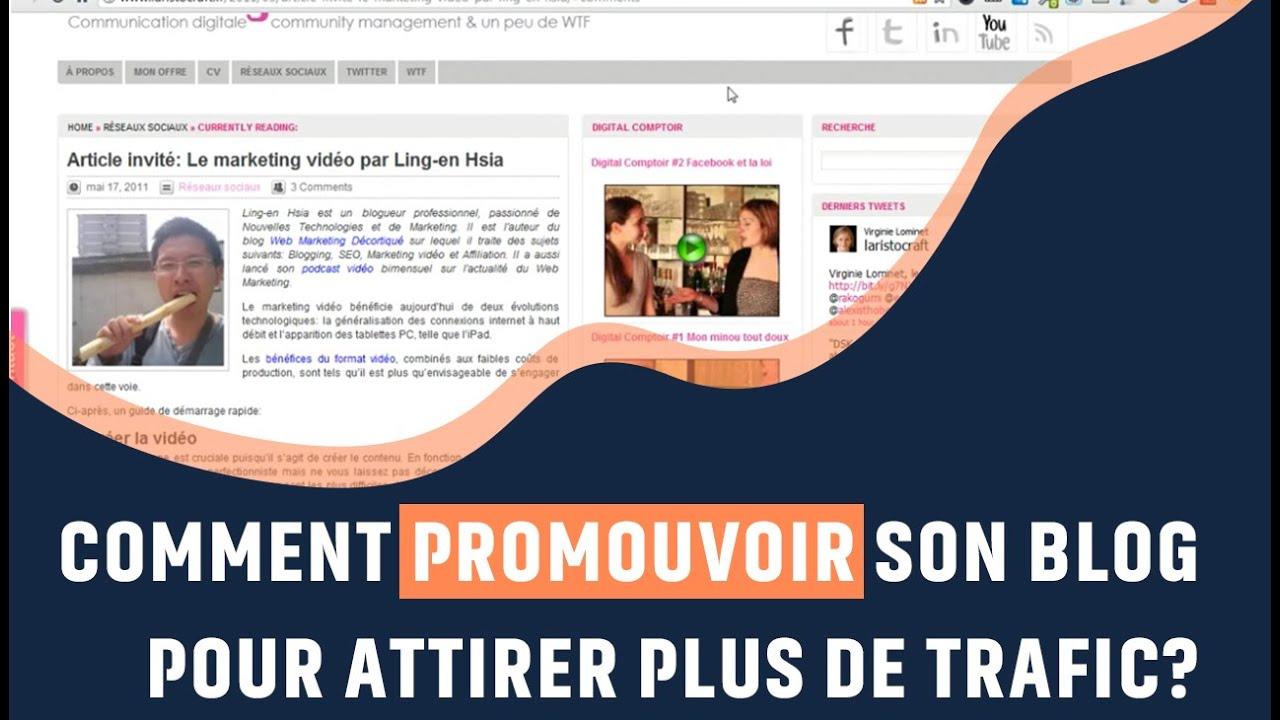 promouvoir son blog gratuitement  u2013 conception carte