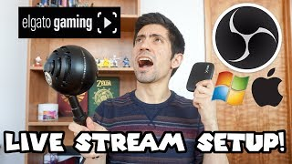 My Live Stream Setup! (+ How to Setup a Gameplay Stream in OBS for Mac/PC)