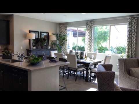North Peak Pardee plan 2 model in Las Vegas 4 bed 3 bath 2,429 sqft