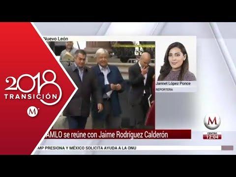Andrés Manuel López Obrador se reúne con 'El Bronco'