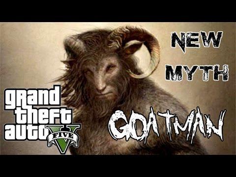GTA 5 - NEW MYTH: Goatman