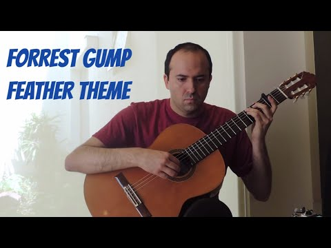 Forrest Gump - (Feather Theme) Classical Guitar  movie theme  cover
