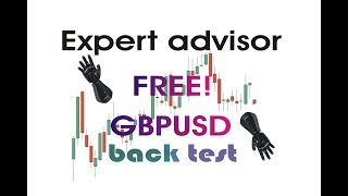 [FOREX] EXPERT ADVISOR FREE- EA Gratuito GBPUSD- LINK de DOWNLOADS NA DESCRIÇÃO DO VÍDEO! Back test