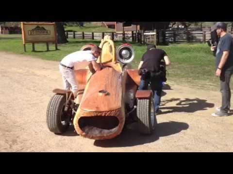 Pioneer Cedar Rocket World S Fastest Log Car Youtube