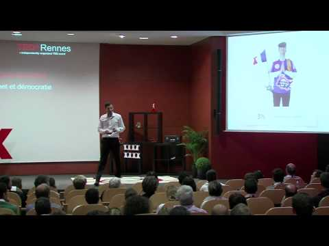 Internet and democracy: Alban Martin at TEDxRennes