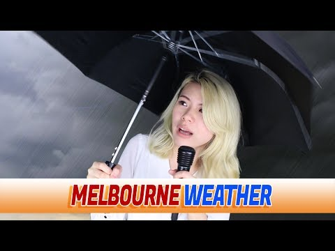 MELBOURNE AUSTRALIA has the WORST WEATHER in the world