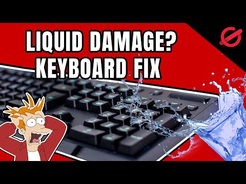 KEYBOARD LIQUID DAMAGE?   HERE IS HOW TO SAVE IT