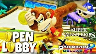 Mario Kart Monday's | If You ain't First then you're Last | W / KaosBroly..... Super smash bros