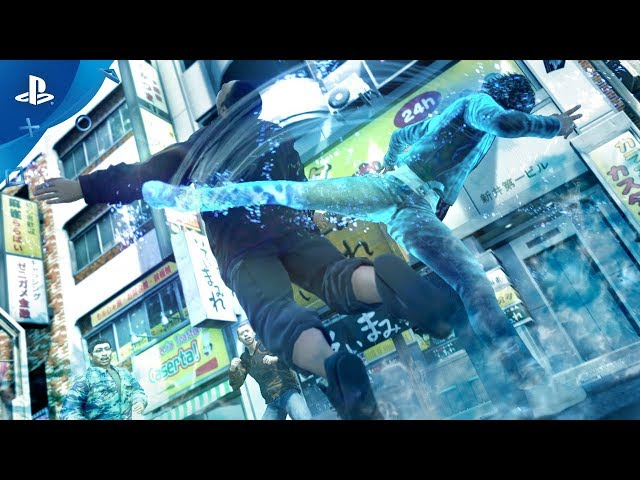 Judgment - Combat Trailer   PS4