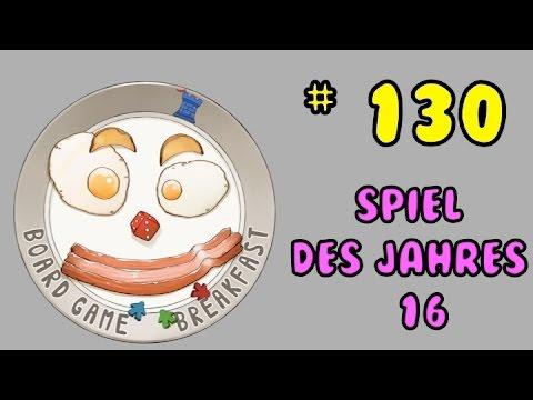 Board Game Breakfast 130 - Spiel des Jahres '16