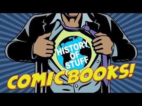 History of Comic Books