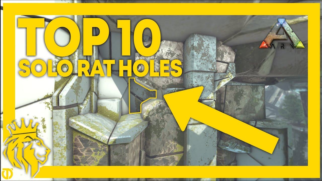 Download TOP 10 BEST SOLO RAT HOLES On Extinction   ARK: Survival Evolved