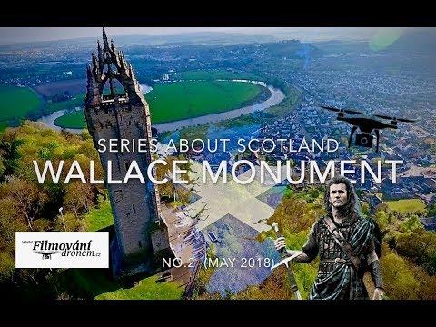 Wallace Monument, Stirling - Scotland series | FilmovaniDronem.cz