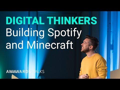 Tobias Ahlin UX Lead at Minecraft - Lenses of innovation at Awwwards Berlin