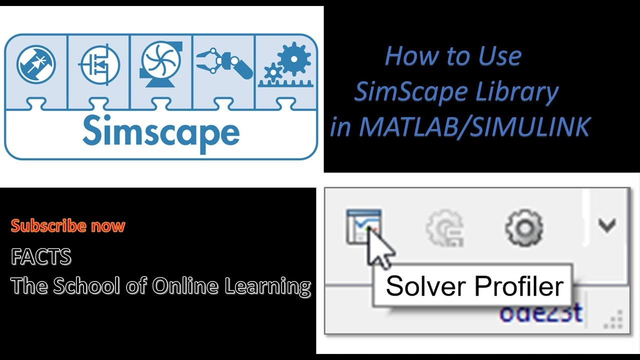 How to Use SimScape Library in MATLAB/SIMULINK
