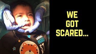 We got really scared.....
