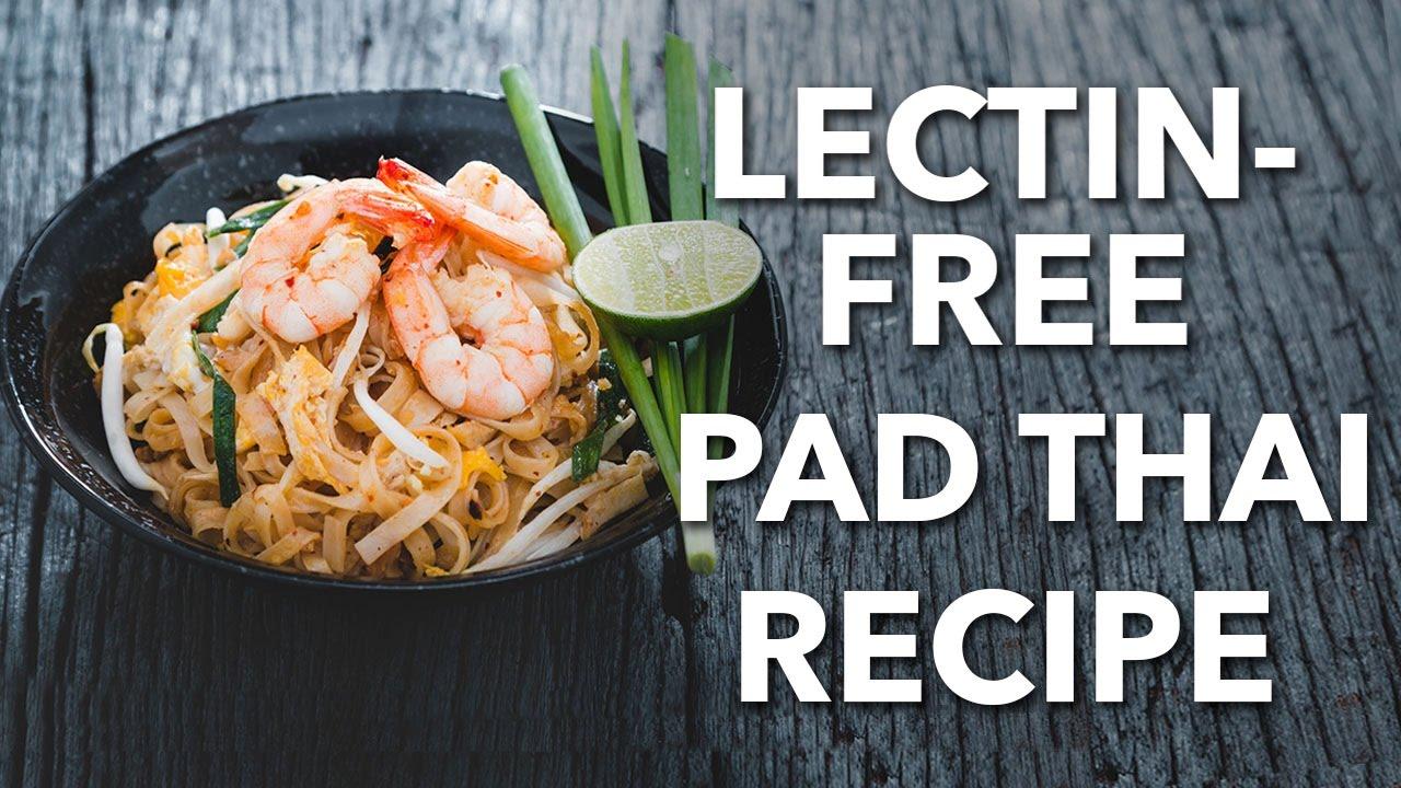 Healthy Pad Thai Recipe Cooking Demo Youtube