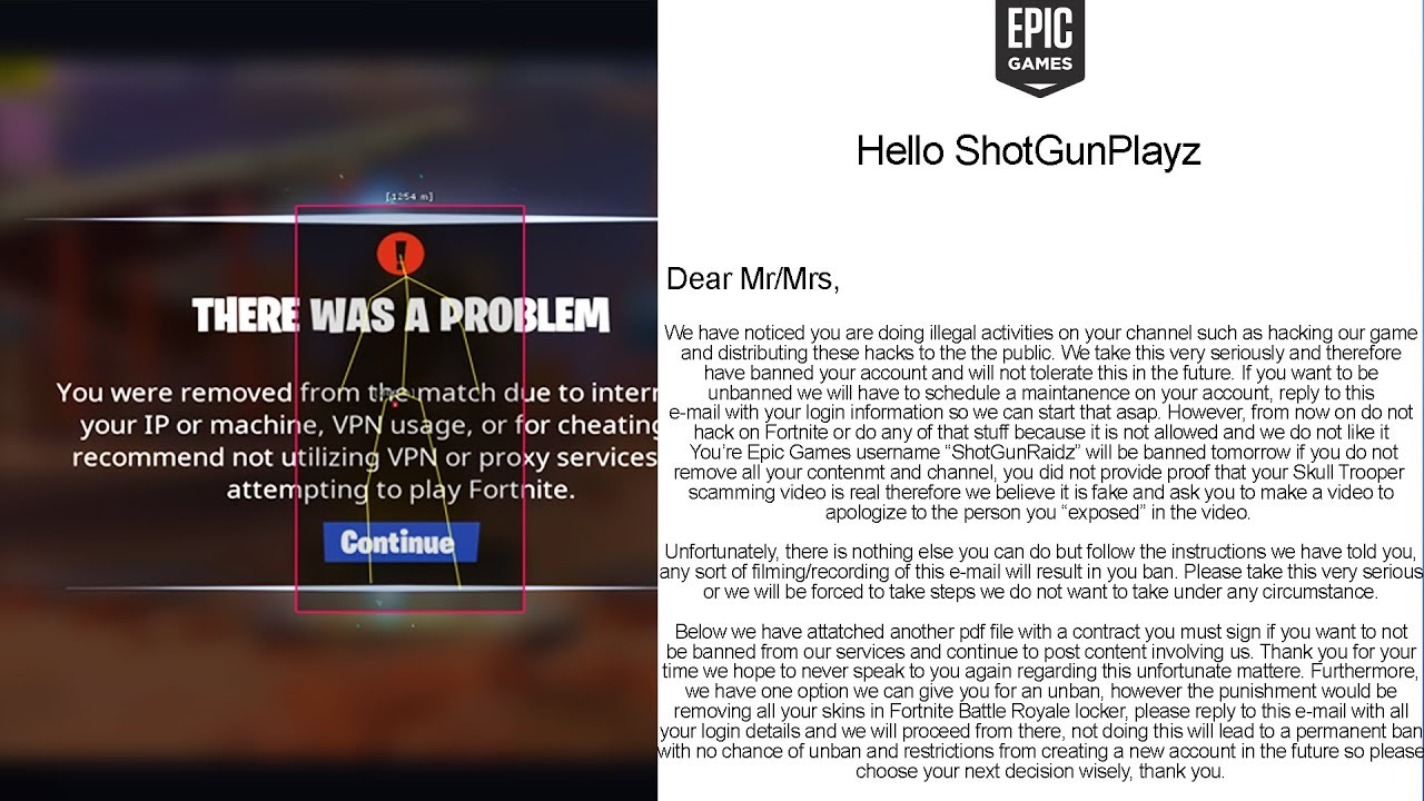 epic games account hacked and banned