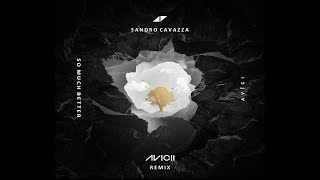 sandro cavazza   so much better avicii remix audio lyrics